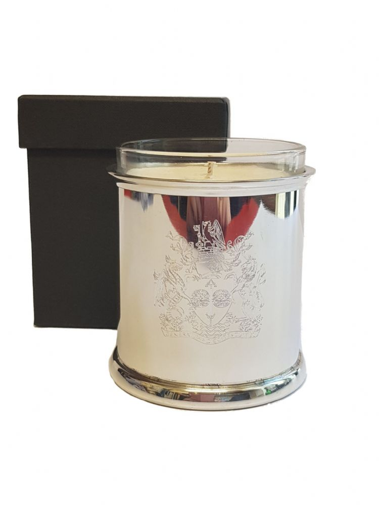 University of Bath Crested Pewter Candle Votive